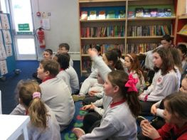 Primary Six Library Visit