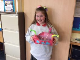 Primary Six make Viking Longships