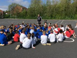Primary Six Shared Education Sports Day