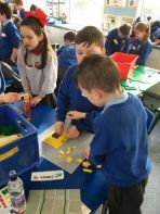 Primary 5 Shared Education 'Egyptian Lego Building Day'