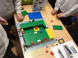 Primary 6 Shared Education Lego Day