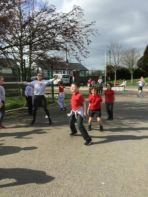 Primary Five Compass Point Games