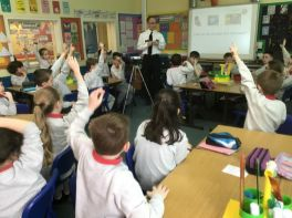 Primary Five Police Visit