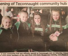 Holy Family girls in the paper again