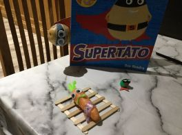 P2 Home learning fun with 'Supertato'!